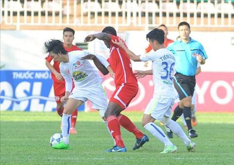 """Hau HAGL 1-1 Hai Phong: """"Dam tre"""" nha bau Duc dang lon dan"""