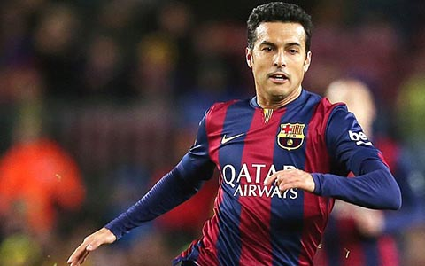 Arsenal chinh thuc hoi mua Pedro Rodriguez voi gia khung hinh anh