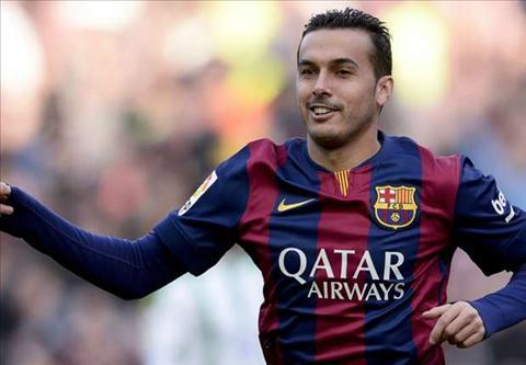 Arsenal chu y Barca rao ban Pedro voi gia kha mem hinh anh