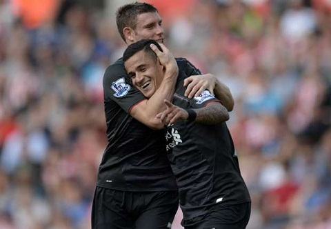 Tien ve James Milner cua Liverpool benh vuc doi nha hinh anh