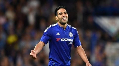 Radamel Falcao cua Chelsea tu tin toa sang hinh anh