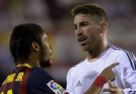 Neymar cua Barca so Ramos nhat hinh anh
