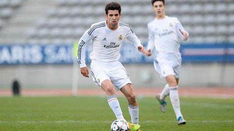 Zidane dua con trai len lam doi truong cua Real Madrid B hinh anh