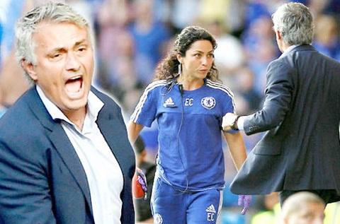 Mourinho mang ca tro ly Eva