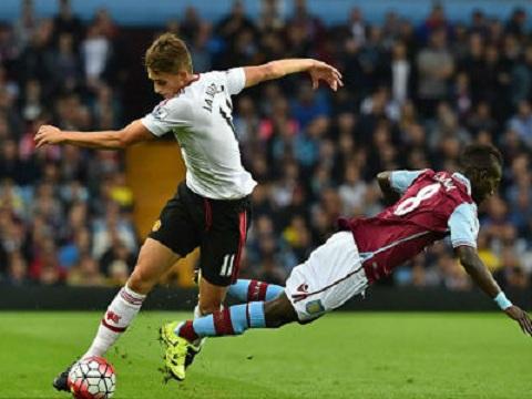 Video Aston Villa 0-1 MU (Vong 2 Premier League 20152016) hinh anh