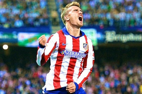 Griezmann cua Atletico Madrid gia han hop dong moi hinh anh