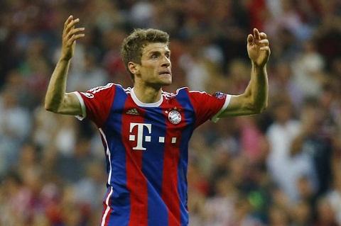 MU tai sinh co hoi trong vu Muller cua Bayern Munich hinh anh
