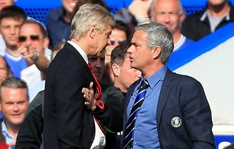Truoc dai chien voi Man City, Mourinho khong quen da deu Wenger hinh anh