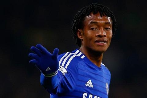 Juventus muon muon tien ve Cuadrado cua Chelsea hinh anh