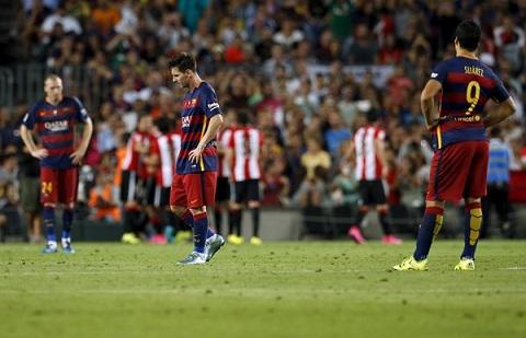 Neu cu thi dau nhu nhung tran da qua thi that kho de Barca bao ve duoc ngoi vuong o La Liga.
