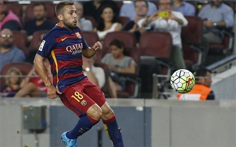 Jordi Alba: Barcelona khien toi danh mat niem tin