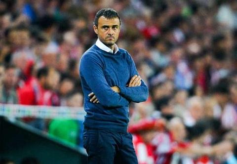 Luis Enrique Barca du suc bao ve chuc vo dich La Liga hinh anh