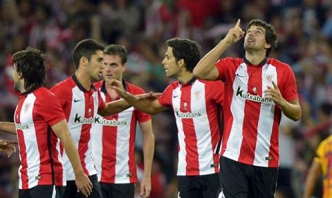 Truc tiep tran Bilbao 0-1 Barca, Suarez mang ve 3 diem cho Blaugrana hinh anh