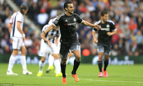 West Brom vs Chelsea dau an Pedro hinh anh 2