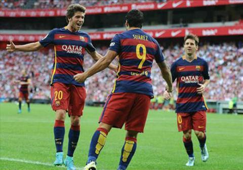 Video clip ban thang Bilbao 0-1 Barcelona (Vong 1 La Liga 2015-2016) hinh anh