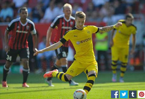 Video clip ban thang Ingolstadt 0-4 Dortmund (Vong 2 Bundesliga 20152016) hinh anh