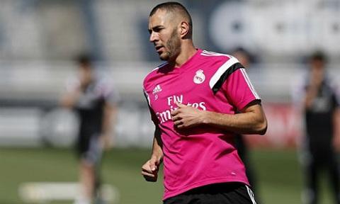 Benzema bao tin vui cho Real truoc vong 2 La Liga 20152016 hinh anh