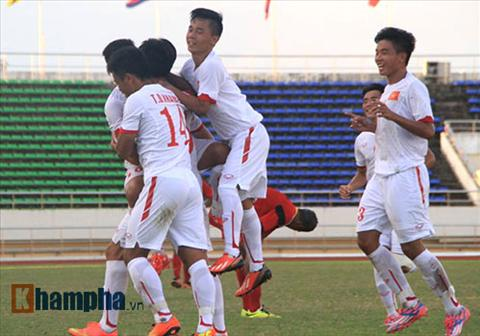 Video clip ban thang U19 Viet Nam 2-0 U19 Dong Timor (Giai U19 Dong Nam A) hinh anh