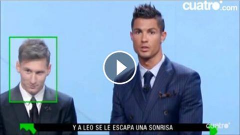 VIDEO PHAN TICH: Messi va Suarez thieu ton trong CR7 trong luc phat bieu?