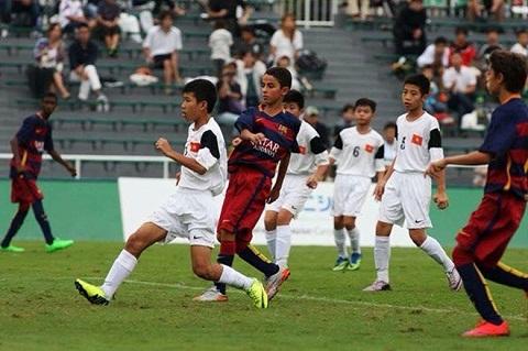Thua U12 Barca, U12 Việt Nam đứng hạng 4 giải trẻ quốc tế - Ảnh 1