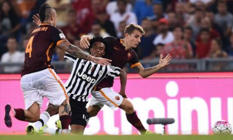 Video clip ban thang AS Roma 2-1 Juventus (Vong 2 Serie A 2014-2015) hinh anh