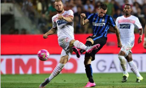 Video clip ban thang Carpi 1-2 Inter (Vong 2 Serie A 201516) hinh anh