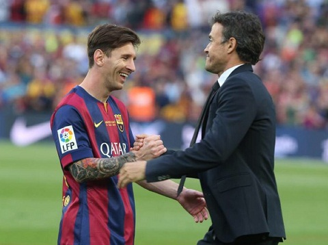 Barca gianh cu an 3 o mua giai 20142015 la nho Messi hinh anh