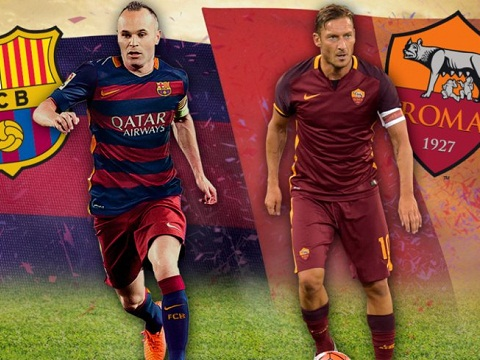 Truoc tran Barca vs Roma Man tap duot cuoi cung hinh anh