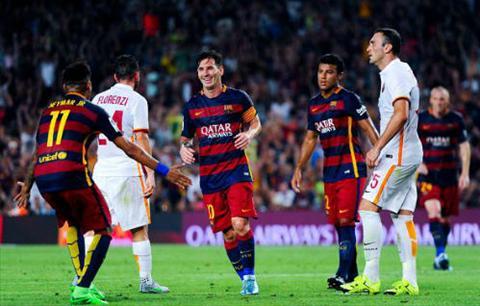 Video clip ban thang Barcelona 3-0 AS Roma (Joan Gamper Cup 2015) hinh anh