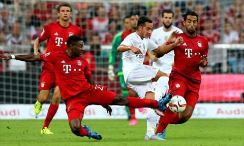 Video clip ban thang Bayern Munich 1-0 Real Madrid (Audi Cup 2015) hinh anh