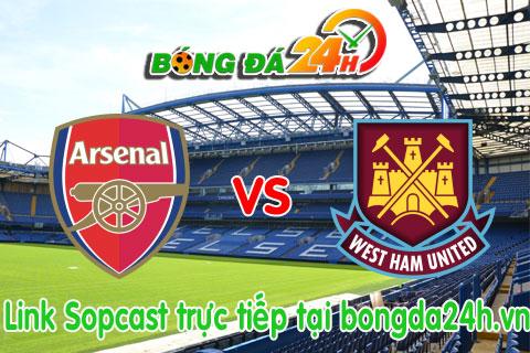 Link sopcast Arsenal vs West Ham (19h30-0908) hinh anh
