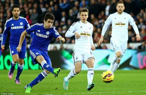 23h30 ngay 0808, Chelsea vs Swansea Khong Costa, khong van de! hinh anh