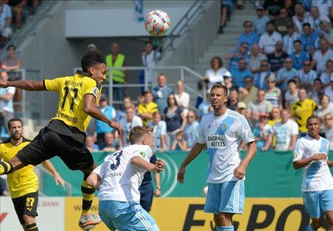 Chemnitz 0-2 Dortmund