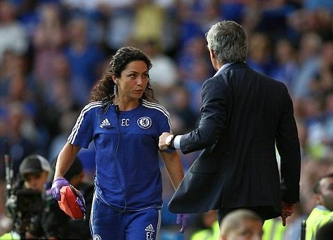 Mourinho do loi tran hoa cua Chelsea len bac si Eva Carneiro