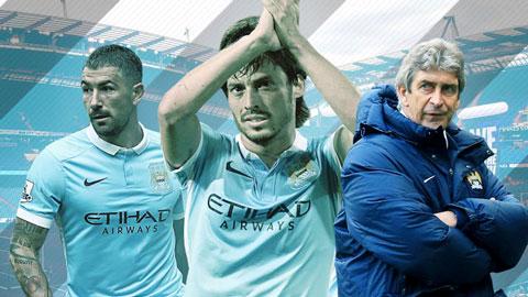 HLV Pellegrini dang quang Champions League cung Man City hinh anh 3