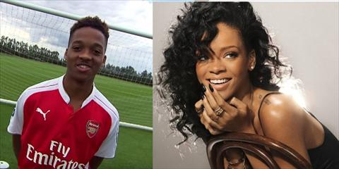 Than dong tuoi teen cua Arsenal muon lai may bay ba gia Rihanna hinh anh