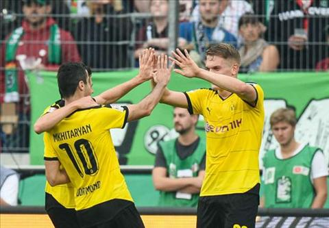 Video clip ban thang Hannover 2-4 Dortmund (Vong 4 Bundesliga 201516) hinh anh