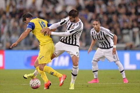 Video clip ban thang Juventus 1-1 Chievo (Vong 3 Serie A 201516) hinh anh