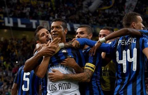 Video clip ban thang Inter Milan 1-0 AC Milan (Vong 3 Serie A 20152016) hinh anh