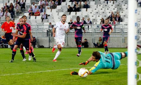 Video clip ban thang Bordeaux 1-1 Liverpool (Vong bang Europa League 20152016) hinh anh