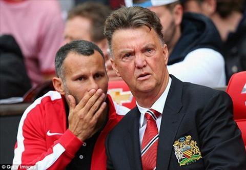 Ryan Giggs dang bi Van Gaal co lap o Man Utd hinh anh