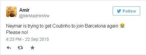 Cac Liverpudlian phan doi Barcelona va Neymar cheo keo Coutinho hinh anh 4