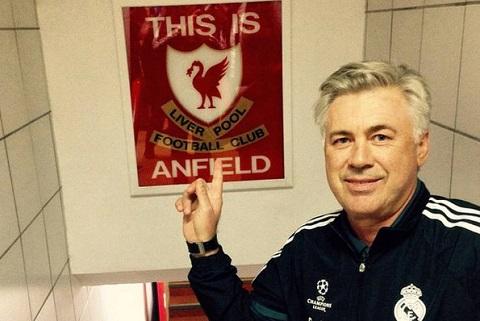 Liverpool tu choi lien he voi Carlo Ancelotti hinh anh