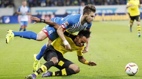 Hoffenheim 1-1 Dortmund Tra gia vi chu quan hinh anh