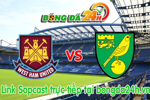 Link sopcast West Ham vs Norwich (21h00-2609) hinh anh