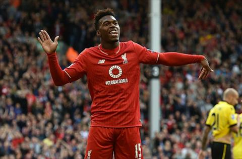 Liverpool 3-2 Aston Villa Sat thu Sturridge chinh thuc tro lai cuu roi Brendan Rodgers hinh anh