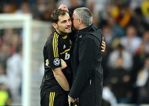 Casillas gap lai Mourinho Nho nhung ngay den toi  hinh anh