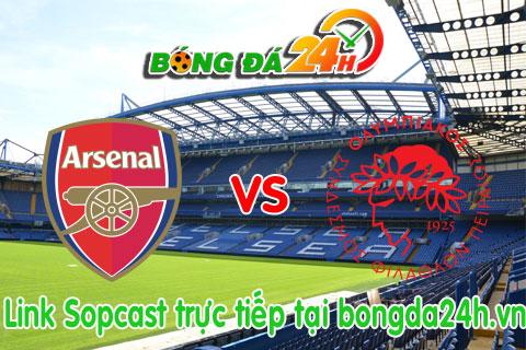 Link sopcast Arsenal vs Olympiakos Piraeus (01h45-3009) hinh anh
