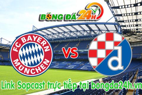 Link sopcast Bayern Munich vs Dinamo Zagreb (01h45-3009) hinh anh