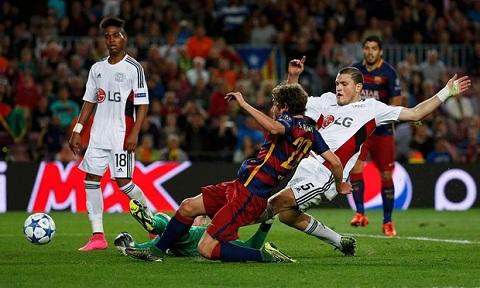 Munir El Haddadi Cascadeur hoan hao cua Lionel Messi hinh anh 2